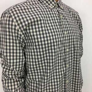 Lucky Brand White Label Fit Gray Shirt Size XL